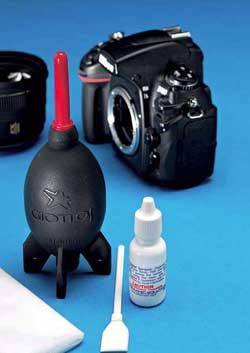 Pulire il sensore della reflex solutionphoto - Pulizia specchio reflex ...
